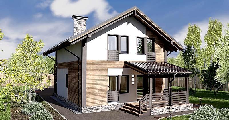 строительство каркасно-панельного дома